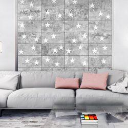 Fotótapéta - Stars On Concrete