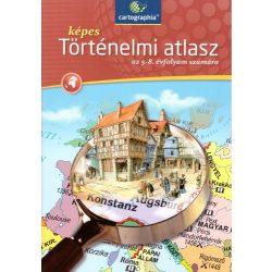 CR-0042H 5-8. évfolyam számára Képes történelmi atlasz Cartographia Tankönyvkiadó
