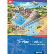 MS-4115 5-8. évfolyamos Történelmi atlasz Mozaik kiadó