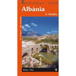 Albánia útikönyv Hibernia kiadó, Hibernia Nova Kft. 2017