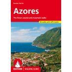 Azores túrakalauz Bergverlag Rother angol 2020  RO 4818