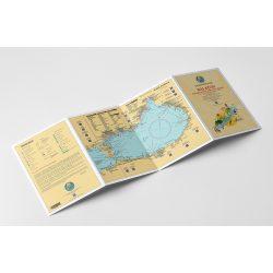 Balaton hajózási térkép, Balatoni túraútvonal tervező térkép