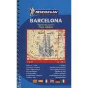 Barcelona atlasz Michelin  1:12 000