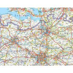 Belgium falitérkép 1:300 000 Freytag 92 x 123 cm