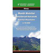 Besztercei-havasok térkép Dimap Bt. 1:70 000