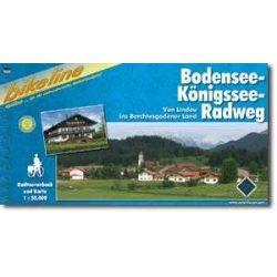 Bodensee-Königsse-Radweg kerékpáros atlasz Esterbauer 1:50 000  2014