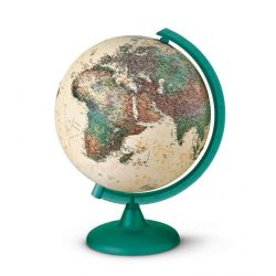 Világító földgömb kétfunkciós 25 cm Kaméleon zöld