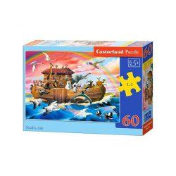 Castorland Noé bárkája puzzle 60 db-os (B-066186) 32x23 cm