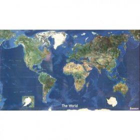 Világ országai, Föld felszíne falitérképek