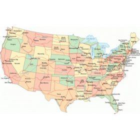 Amerika térképek