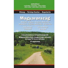 Magyarország térképek, atlaszok