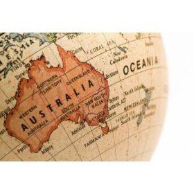 Ausztrália térképek, Új-Zéland és a szigetek