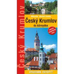 Cesky Krumlov útikönyv Hibernia kiadó Cesky Krumlov és környéke 2020