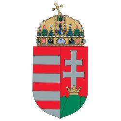 Magyarország címere laminált 30x42 cm A Magyar Köztársaság címere