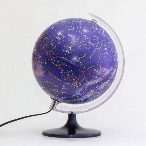 Világító Csillagászati gömb 25 cm