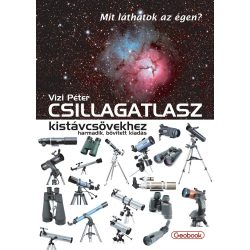 Csillagatlasz kistávcsövekhez könyv Geobook 3. bővített kiadás 2018
