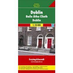 Dublin térkép Freytag & Berndt 1:18 000   2010