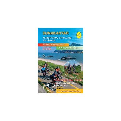 Dunakanyar kerékpáros útikalauz Frigória 1:50 000