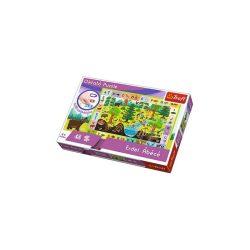 Erdei Ábécé oktató puzzle 48db-os Erdei Ábécé puzzle Trefl