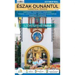 Észak Dunántúl térkép, Észak-Dunántúl turisztikai térképe hajtogatott