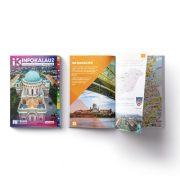 Esztergom infokalauz,  Esztergom térkép Térképház 1:15 e  2018 Esztergom és Dorog, Esztergomi járás könyv