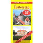 Észtország útikönyv Dekameron kiadó