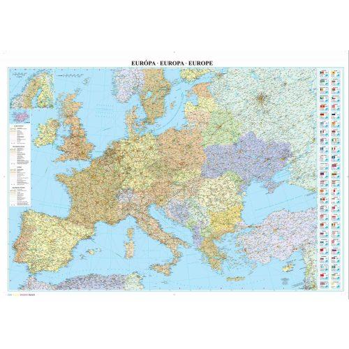 Europa Faliterkep Szarvas 1 3 750 000 126x88 2015 Euoropa