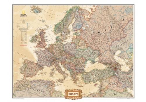 Europa Faliterkep National Geographic Antik Szinu Orias Meret