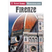 Firenze útikönyv Nyitott Szemmel, Kossuth kiadó  2016 Firenze és Siena útikönyv