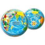 Földgömb gumilabda, Földgömb labda Mondo Toys 23 cm