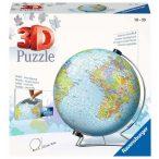 Földgömb puzzle 550 db-os 3D puzzle földgömb Ravensburger