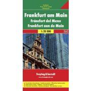Frankfurt térkép Freytag 1:20 000