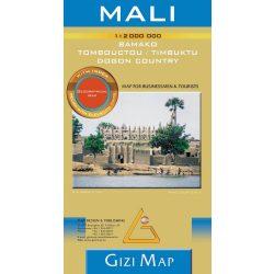 Mali térkép Gizi Map 1:2 000 000