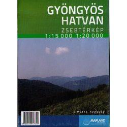 Gyöngyös térkép, Hatvan térkép  Mapland