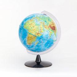 Belma hegy-vízrajzi földgömb 16 cm átmérőjű