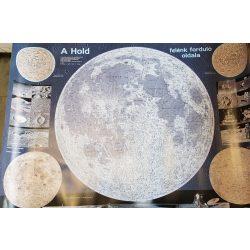 Hold térkép, Hold falitérkép Paulus