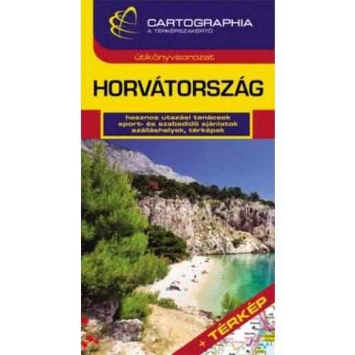 Horvátország útikönyv Cartographia 2014