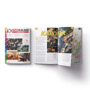 Kaposvár infokalauz, Kaposvár térkép Térképház 1:20 e  2018  Kaposvár könyv