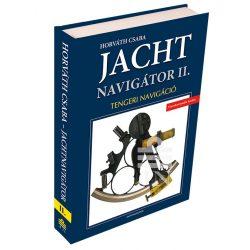 Jachtnavigátor - Tengeri navigáció II. 2019 Jachtnavigátor könyv 2. Horváth Csaba Jachtnavigátor kiadó
