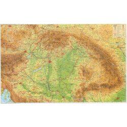 Kárpát-Medence falitérkép keretezett 70x50 cm Kárpát-Medence térkép