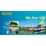 Elbe River Trail kerékpáros atlasz 2. Esterbauer 1:75 000   Elba kerékpáros térkép
