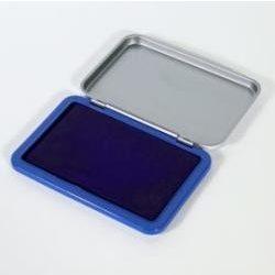 Kisméretű bélyegző párna Bluering, Kis bélyegzőpárna igazolófüzethez 10,5x7 cm - kék tintás