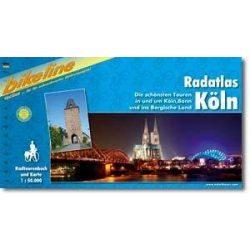 Radatlas Köln kerékpáros atlasz Esterbauer 1:75 000