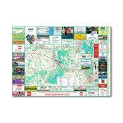 Komárom-Esztergom megye térkép Térképház 1:125e  2016