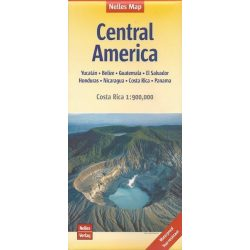 Közép-Amerika térkép Nelles 1:300 000
