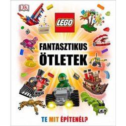 LEGO fantasztikus ötletek könyv Te mit építenél?  DANIEL LIPKOWITZ  HVG kiadó