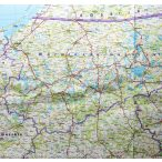 Lengyelország falitérkép Freytag 1:700 000 100x 95 cm