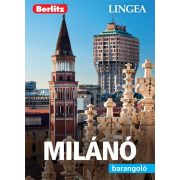 Milánó útikönyv Lingea-Berlitz Barangoló 2019