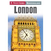 London útikönyv Nyitott Szemmel, Kossuth kiadó 2014