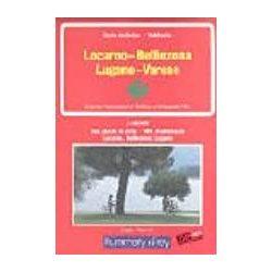 Lucarno turista térkép, Lucarno Bellinzona Lugano Varese turista térkép Kümmerly Frey 1:60 000